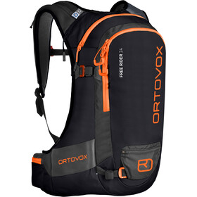 """Ortovox Free Rider 24 Backpack Black Raven"""